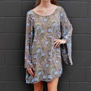 Mumu Peacock Dress